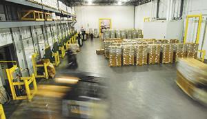 Installs Cold Storage Grocery Warehouse Floor - Versacold